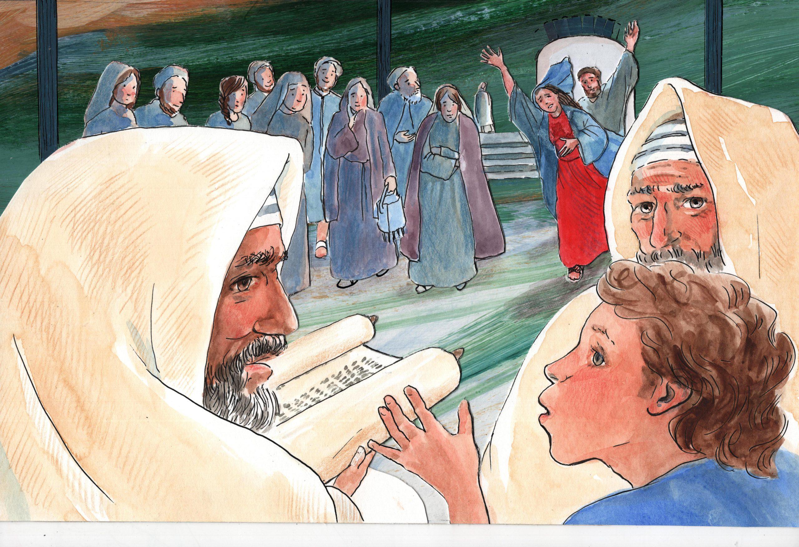 A.1.19 Jezus in de tempel