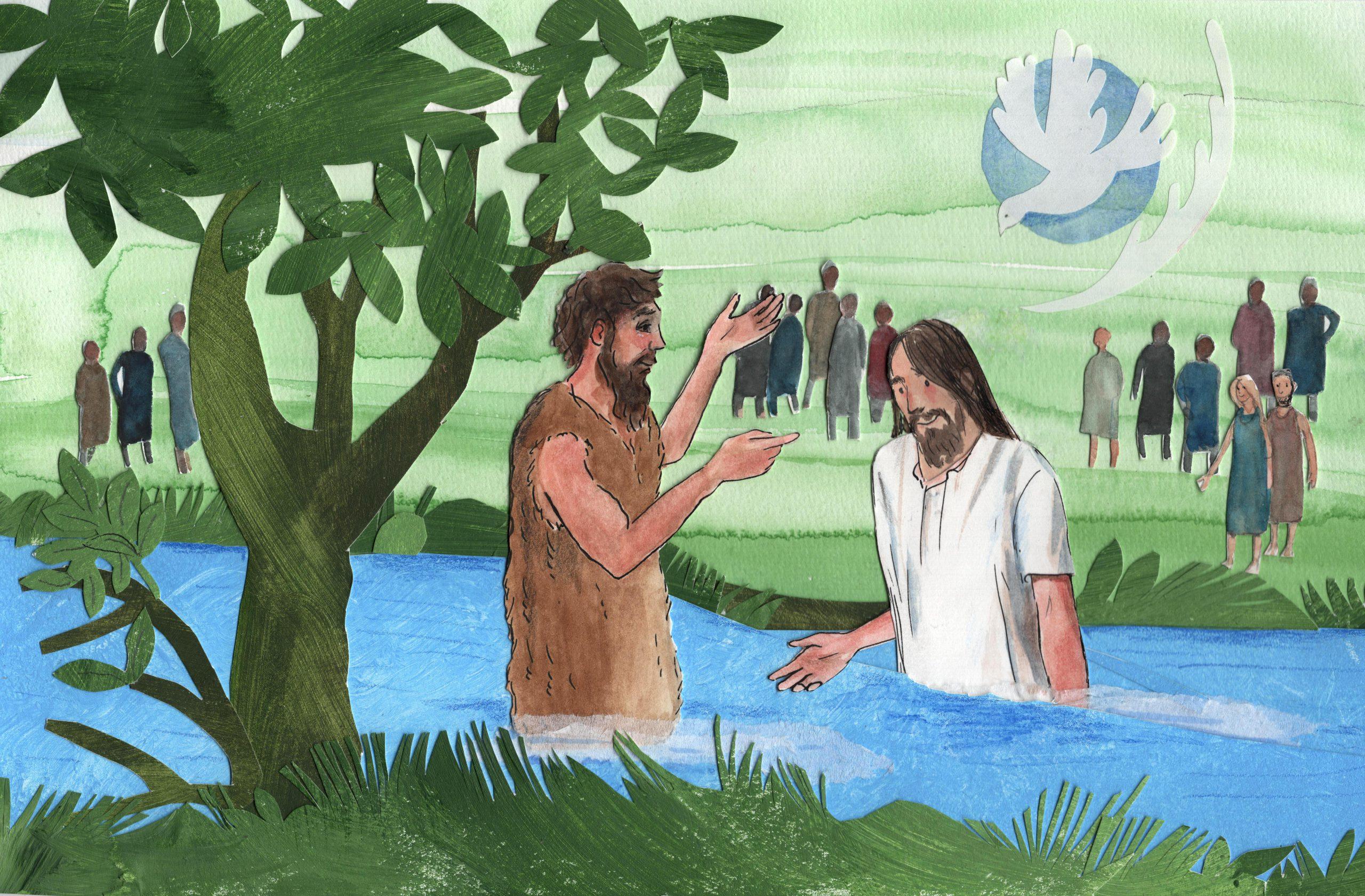 A.1.20 Jezus wordt gedoopt