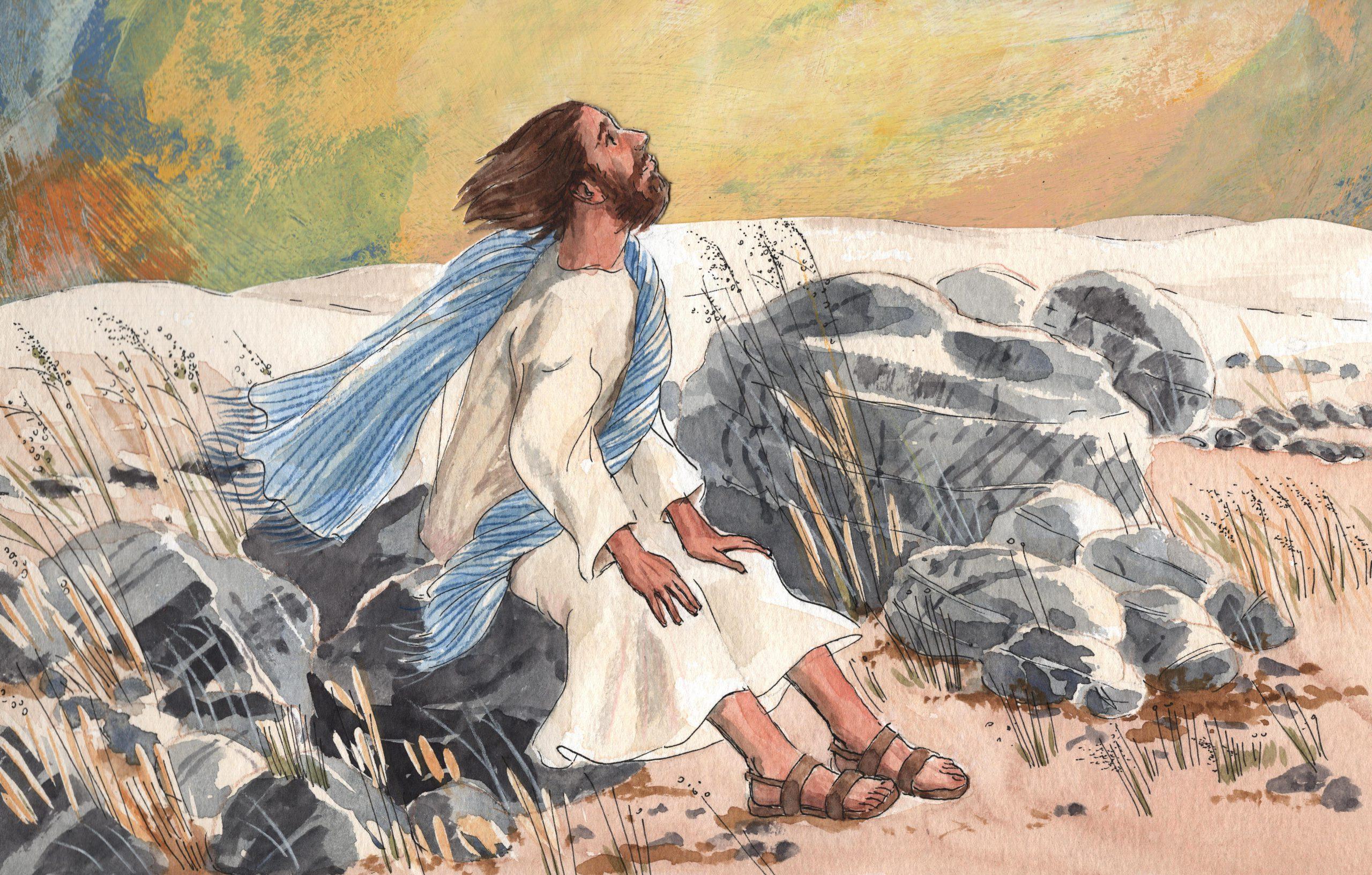 A.3.23 Jezus in de woestijn