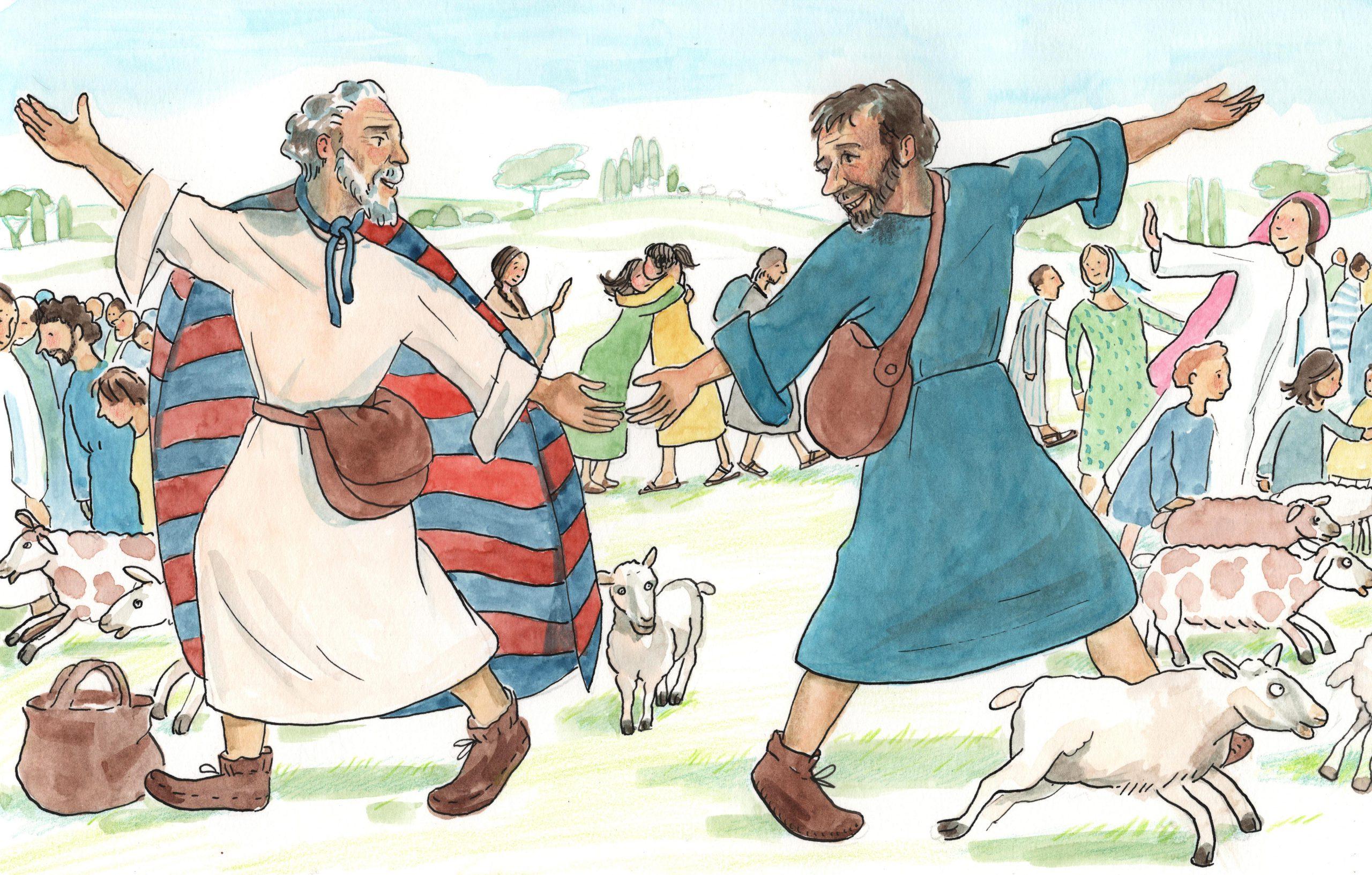 A.1.12 Abraham en Lot