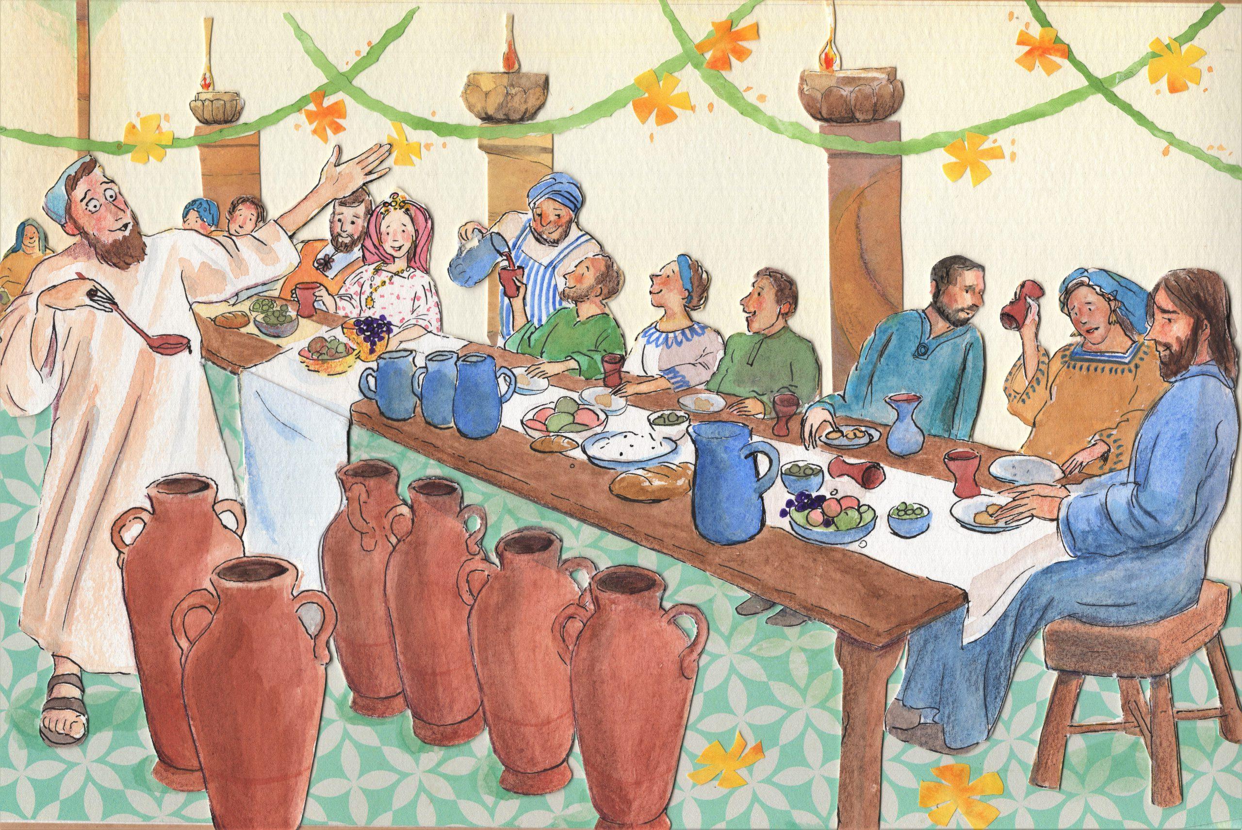 A.1.25 Bruiloft in Kanaän