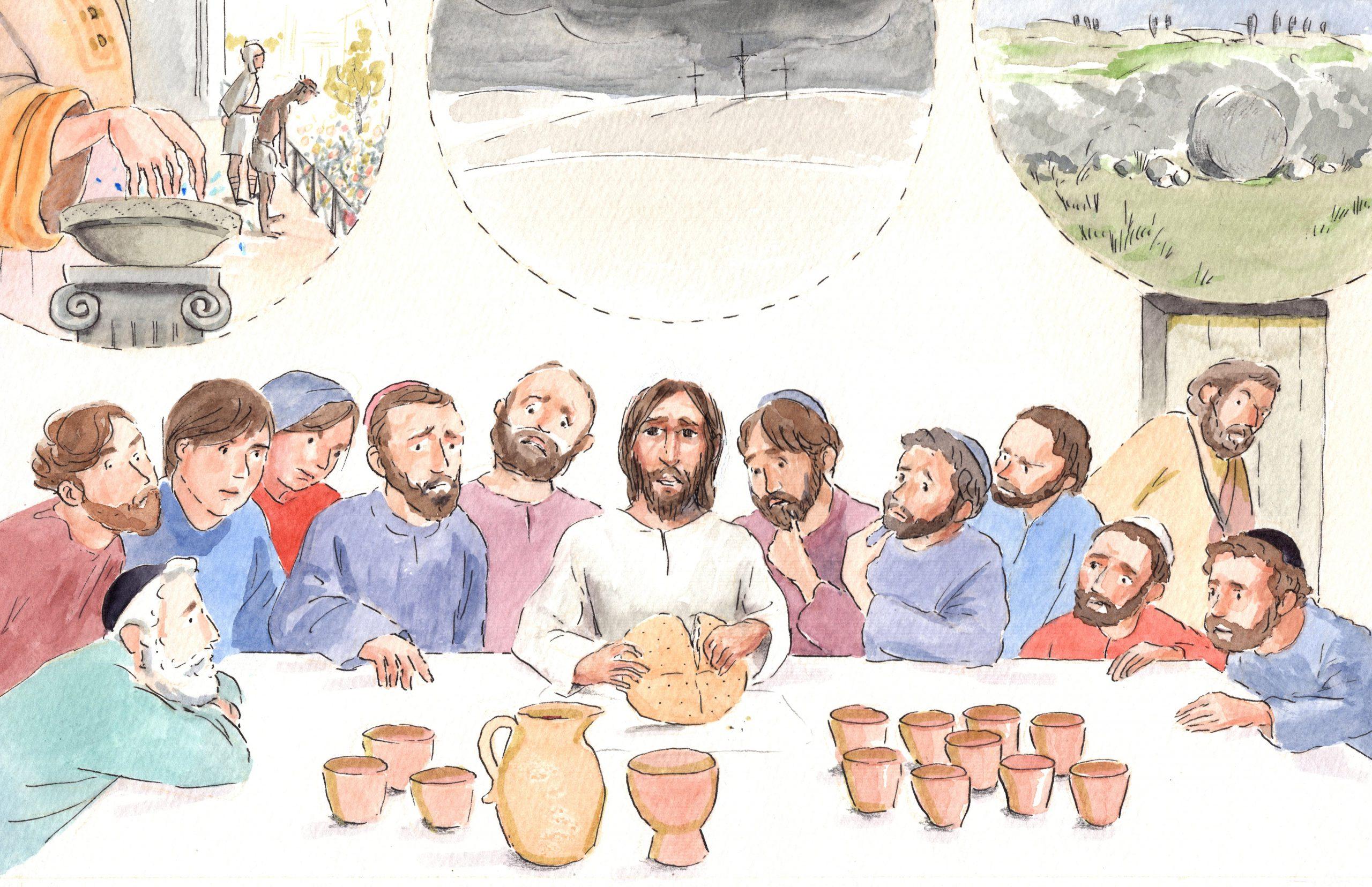 A.1.28 Jezus wordt veroordeeld