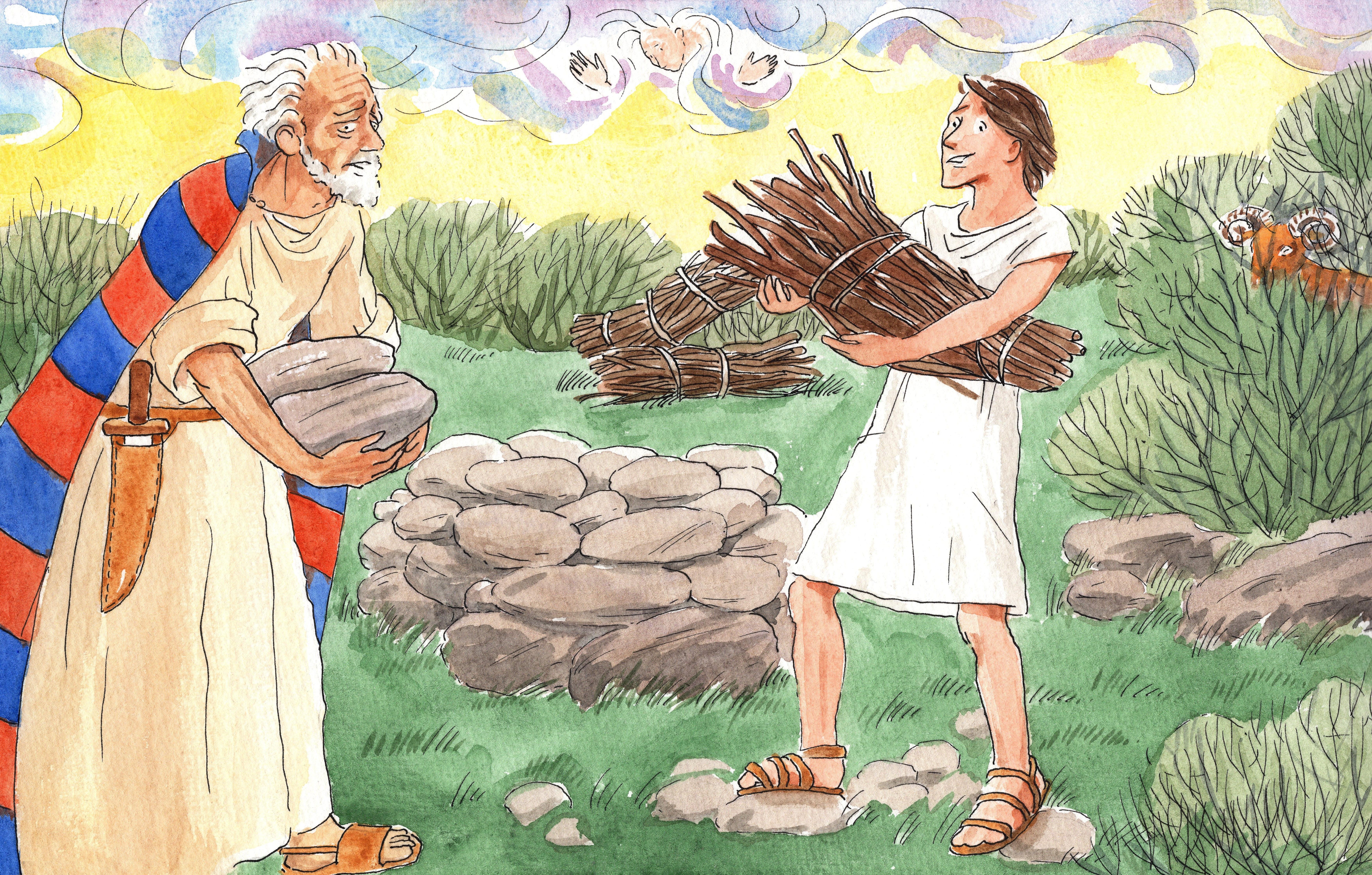 B.3.04 Abraham offert Isaak
